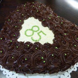 Torta zdobena s Ganache